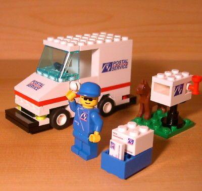 Lego mail truck - Lookup BeforeBuying