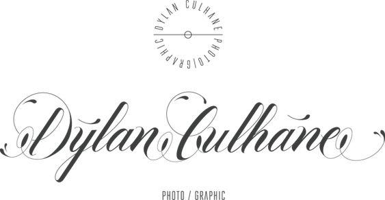 identidad y aplicaciones de fotografo dylan culhane http://www.designals.net/2013/08/dylan-culhane/