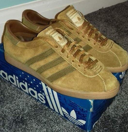 Stunning Never Worn French Tobaccos From The 70 S Football Casuals Sneakers Adidas Gazelle Sneaker