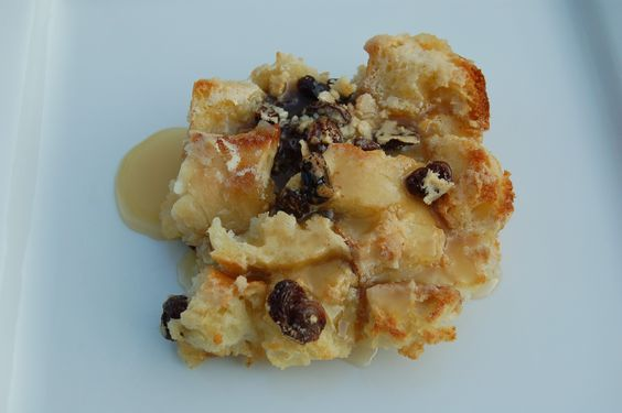 Bread Pudding with Grand Marnier Sauce