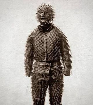 Siberian bear hunting armor from the 1800's!