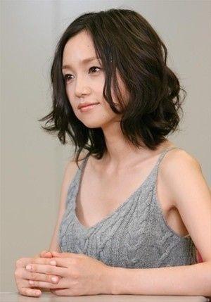 髪型 永作博美髪型パーマ : jp.pinterest.com
