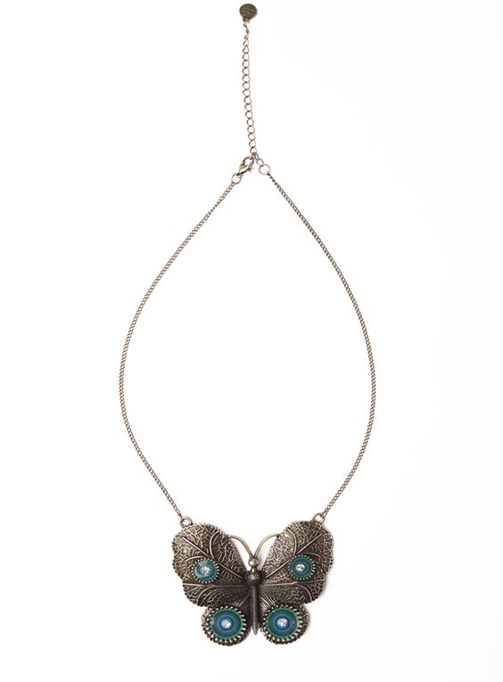 DESIGUAL Colgante MARIPOSA BLUE - 26,10€ :