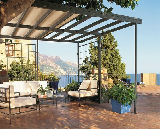 pergolas sunshades avantgarde unopi check it out. Black Bedroom Furniture Sets. Home Design Ideas
