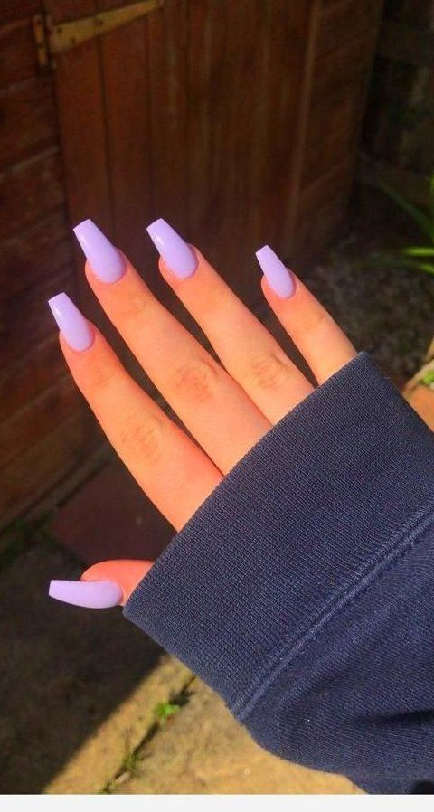 Fall Nails Ideas Acrylicnails Manicure Long Nails For Fall Season Gelnailideas Nailideaswinter In 2020 Purple Acrylic Nails Acrylic Nails Coffin Short Purple Nails
