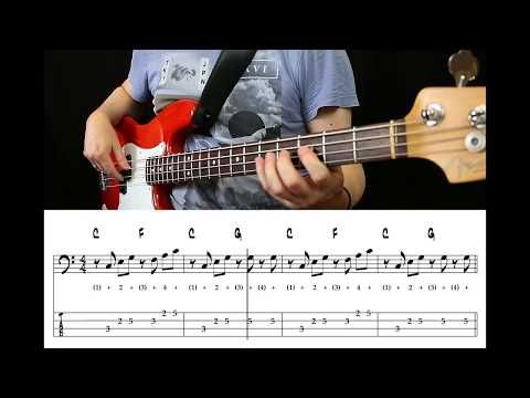 The Traveling Wilburys Last Night Bass Cover With Tabs Youtube In 2020 Bass Guitar Shirts Double Bass Bass