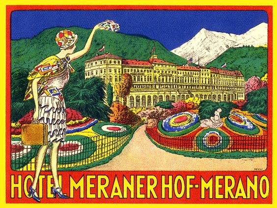 Hotel Meranerhof  ~ Merano Italy