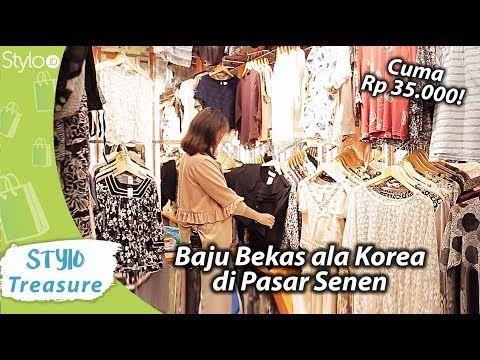 Pasar Senen Baju Bekas