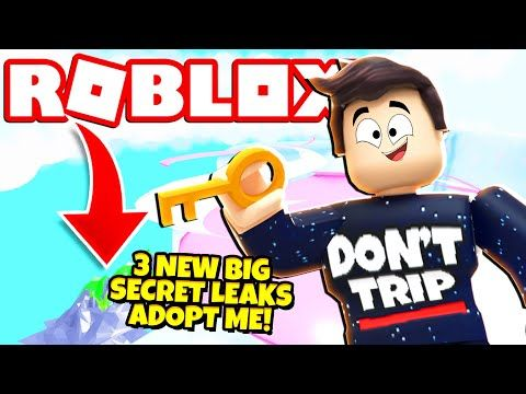 3 New Big Secret Leaks In Adopt Me New Adopt Me Update Roblox
