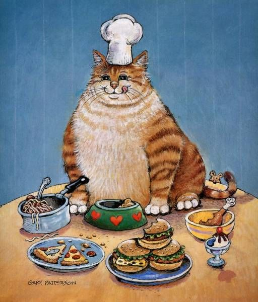 "Gary Patterson Cats | â""–115229 Gary Patterson - Fat Cat De - Patterson, Gary ..."