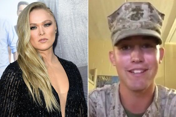 She Said Yes Ronda Rousey May Actually Accompany Marine Jarrod Haschert To His Ball Marine Corps Ball Marine Ronda Rousey