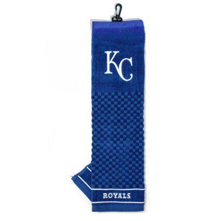 Team Golf MLB Kansas City Royals Embroidered Golf Towel, Blue