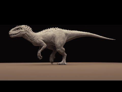 映画『ジュラシック・ワールド』の恐竜、ILM制作のターンテーブル | 3DTotal.jp 日本語オフィシャルサイト