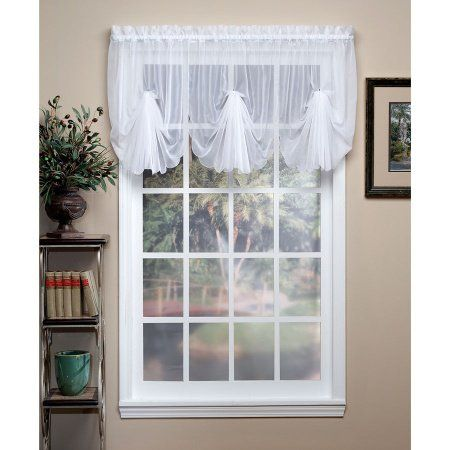 Emelia Fan Valances are sheer and dainty. Available in many colors ...