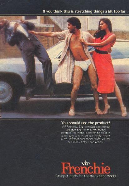 1980s Classic Hit Campaign - VIP Frenchie Print Ad feat. Dilip Tahil - U Turn