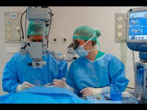 Cirugía de catarata: Facoemulsificación - Centro de Oftalmología Bonafonte. Barcelona (España) - YouTube