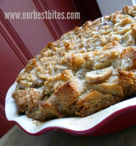 Bananas Foster Bread Pudding...what's not to love?