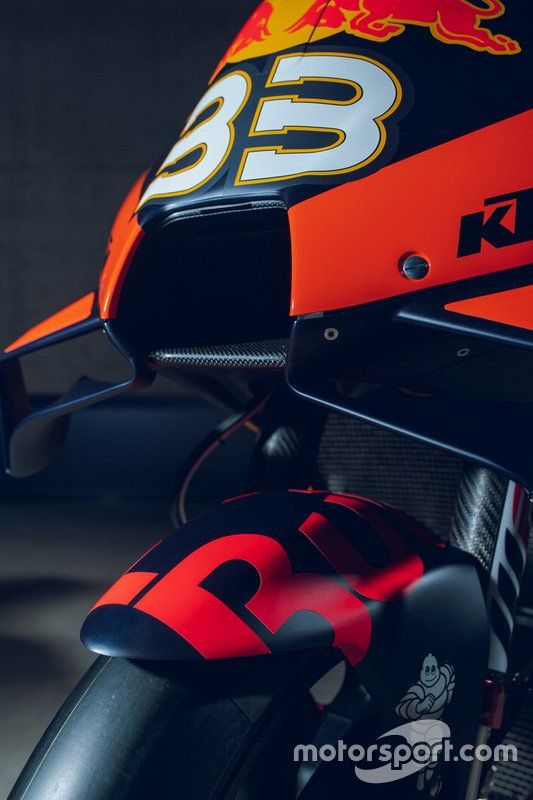 Bike Of Brad Binder Red Bull Ktm Factory Racing In 2020 Red Bull Ktm Ktm Ktm Factory