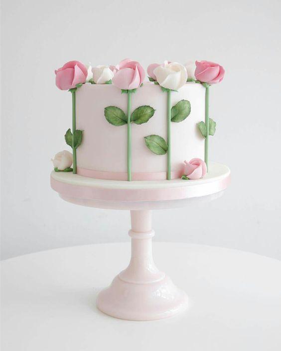 Semplice e delicata by Zoë Clark cake                              …