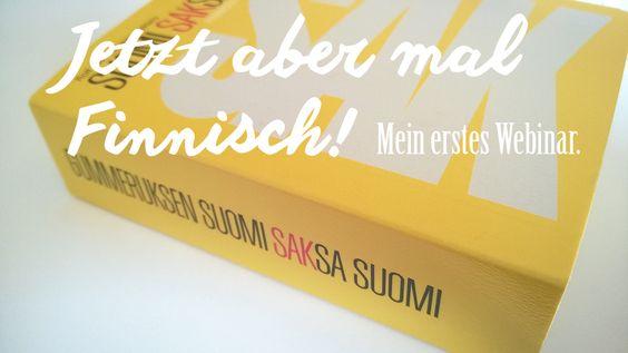 Webinar: Jetzt! Finnisch!