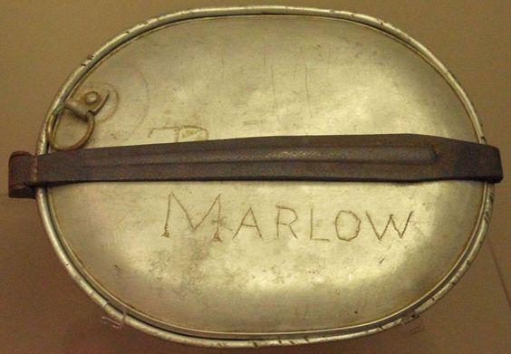 The National Prisoner of War Museum, Andersonville, Georgia; Linus Marlow's mess kit