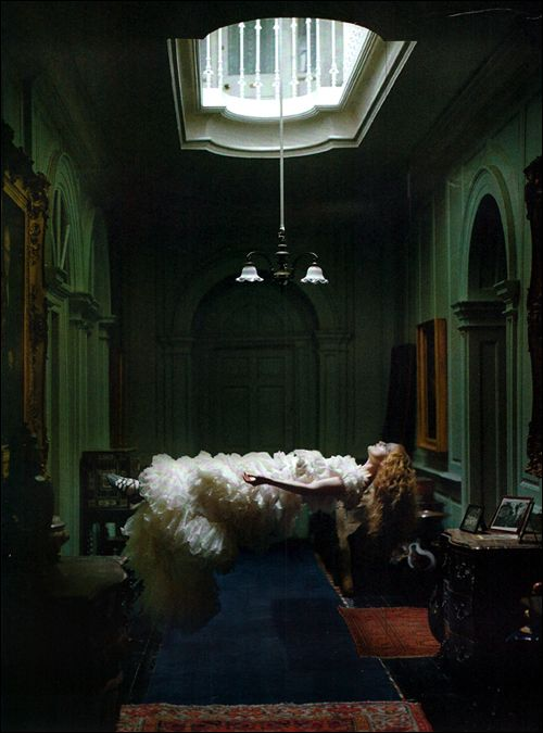 Dreaming of Another World  Photographed by Time Walker for Vogue Italia, March 2011
