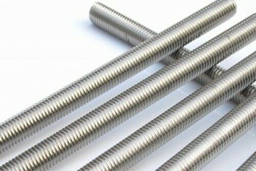 Sponsored Ebay 1 2 13 X 12 1ft Long Zinc Plated Low Carbon Steel Fully Threaded Rod 10pcs Zinc Plating Zinc