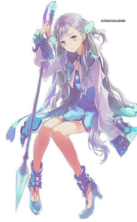 Anime Girl Render 9 by AnimeRenderss