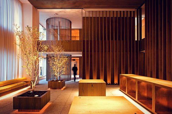 wooden frame lighting effect
