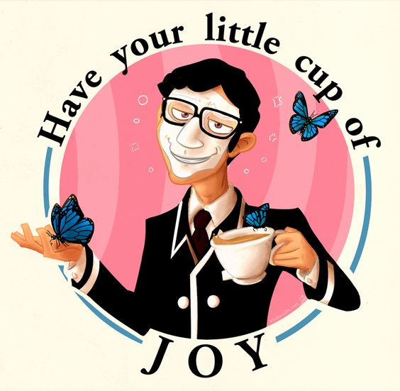 Have your little cup of Joy - We Happy Few (Video Game)