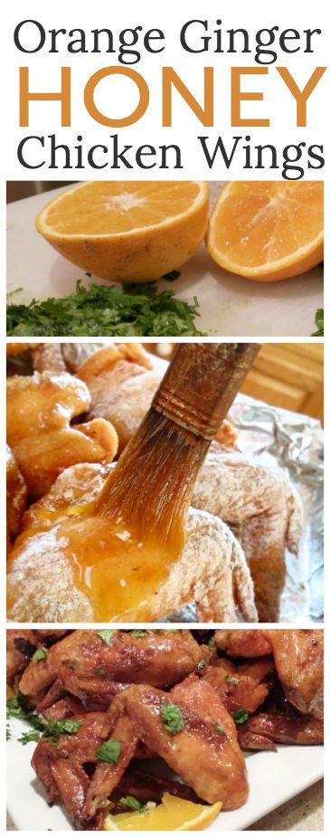 Orange Ginger Honey Chicken Wings | Recipe | Honey Chicken Wings ...