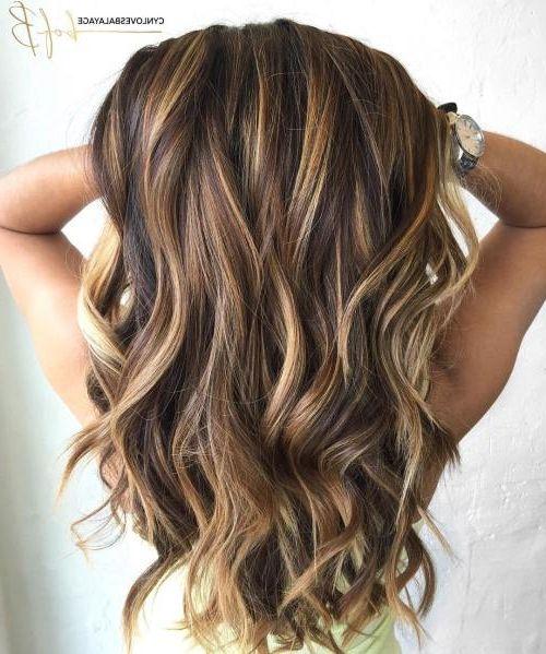 30 Caramel Highlight Hair Color Ideas in 2019   Highlights ...