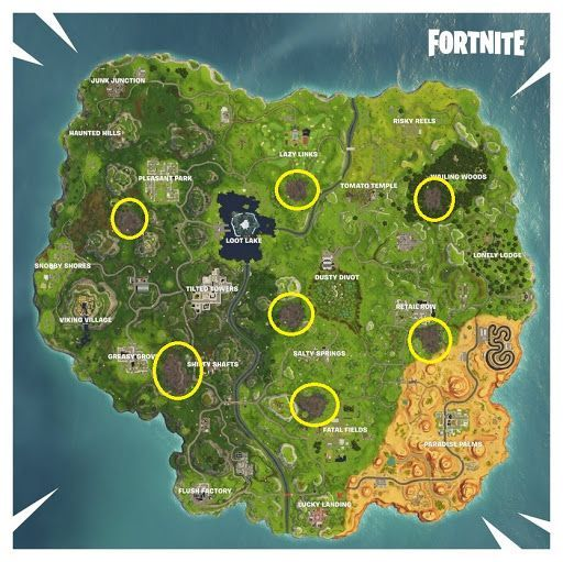 Fortnite Chapter 2 Season 2 Map Changes And New Locations Fortnite New Shadow Viking Village