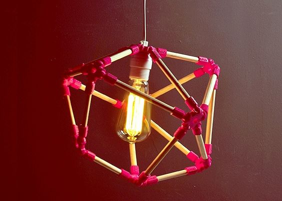 MONA.MX: Polygon Lamp-Pink - Kichink!