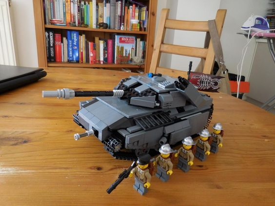 The Armoury: Phalek empire main tank, by motorhead fan