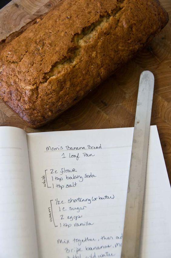 Sweet Treats: food, photography, life: Mom's Banana Bread
