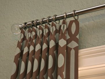 Curtains Ideas curtain rod crystal finials : Finishing Touches curtain pole - curtain poles - denver ...