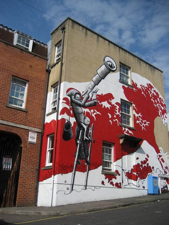 Incredible Street Art Illustrations by Phlegm «TwistedSifter