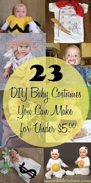 23 DIY Baby Costumes 23 DIY Baby Costumes You Can Make for Under $5