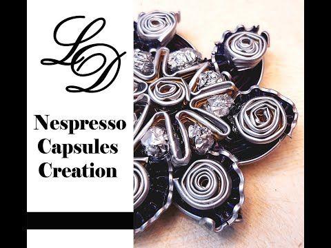 How To Recycle Nespresso Capsules Nespresso Pendant Easy Diy Nespresso Capsules Creation Youtube In 2020 Nespresso Capsules Easy Diy Nespresso