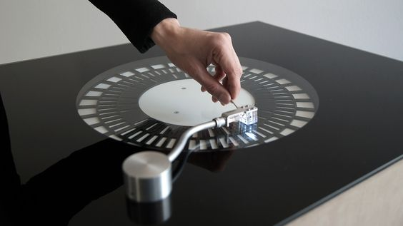 A Record Player with No Records, and Lasers Instead of a Needle.