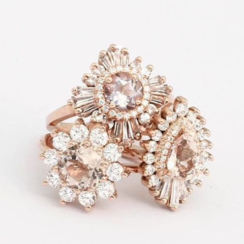 A little SUND△¥ JE₩EL loving for @heidigibsondesigns #ring #rings #weddingrings