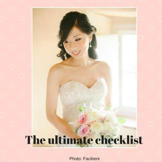There's so much to organise in a wedding. Here is the list that will help you keep track of everything. http://www.weddinganditaly.com/single-post/2016/09/14/The-Ultimate-Wedding-Checklist