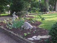front yard raised bed