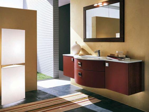 Single vanity unit AB 511 Yen Collection by RAB Arredobagno