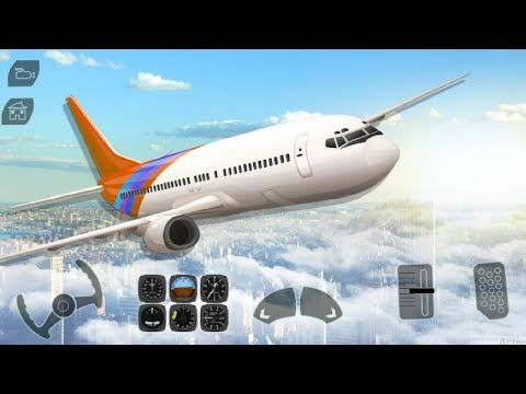 Landing On Road Passengers Flight New Flight Unlocked Boeing 777 Youtube In 2021 Boeing 777 Truck Games Taxi Games