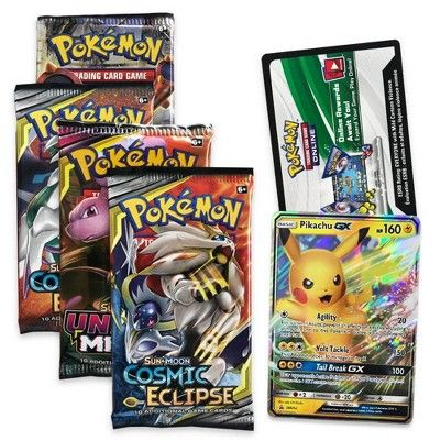 NEW//SEALED//Genuine Pikachu GX /& Eevee GX Special Collection Pokemon