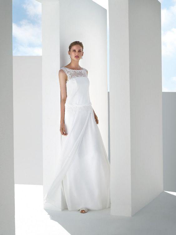 Moderne Brautkleider von Marylise sind die perfekte Wahl, wenn du auf der Suche nach einem unkomplizierten Hingucker Brautkleid bist. Probier es aus: http://crusz.de/brautkleider Foto: Marylise