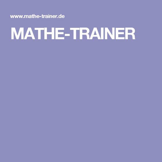 MATHE-TRAINER