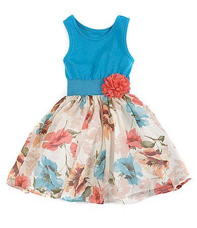 Pippa and Julie 2T6X KnittoWoven Dress #Dillards